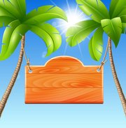 Background clipart palm tree. Free and vector graphics