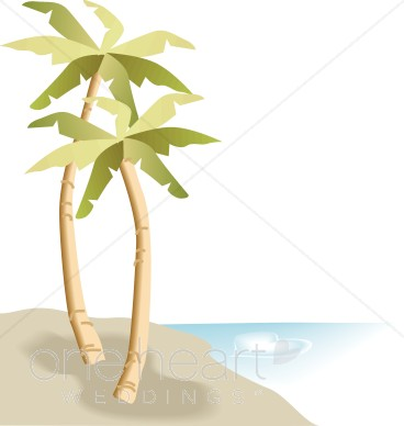 Beach free collection download. Background clipart palm tree