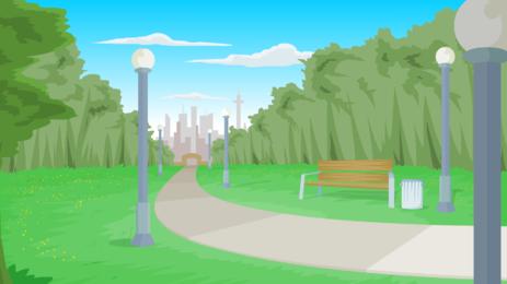Background clipart park. By gordyh on newgrounds