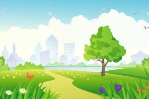 Background clipart park. P download station page