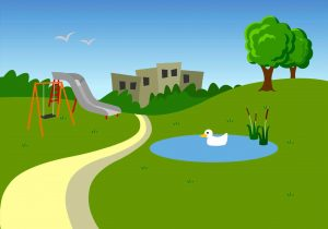 The images collection of. Background clipart park