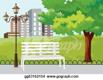 Scene . Background clipart park