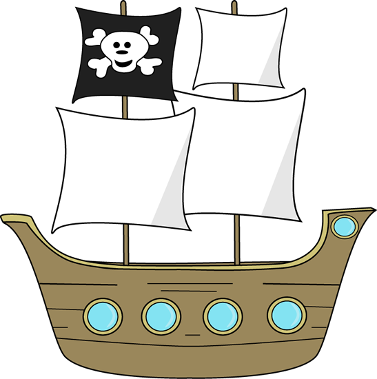 Clip art image brown. Background clipart pirate ship