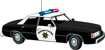 Free car transparent collection. Background clipart police