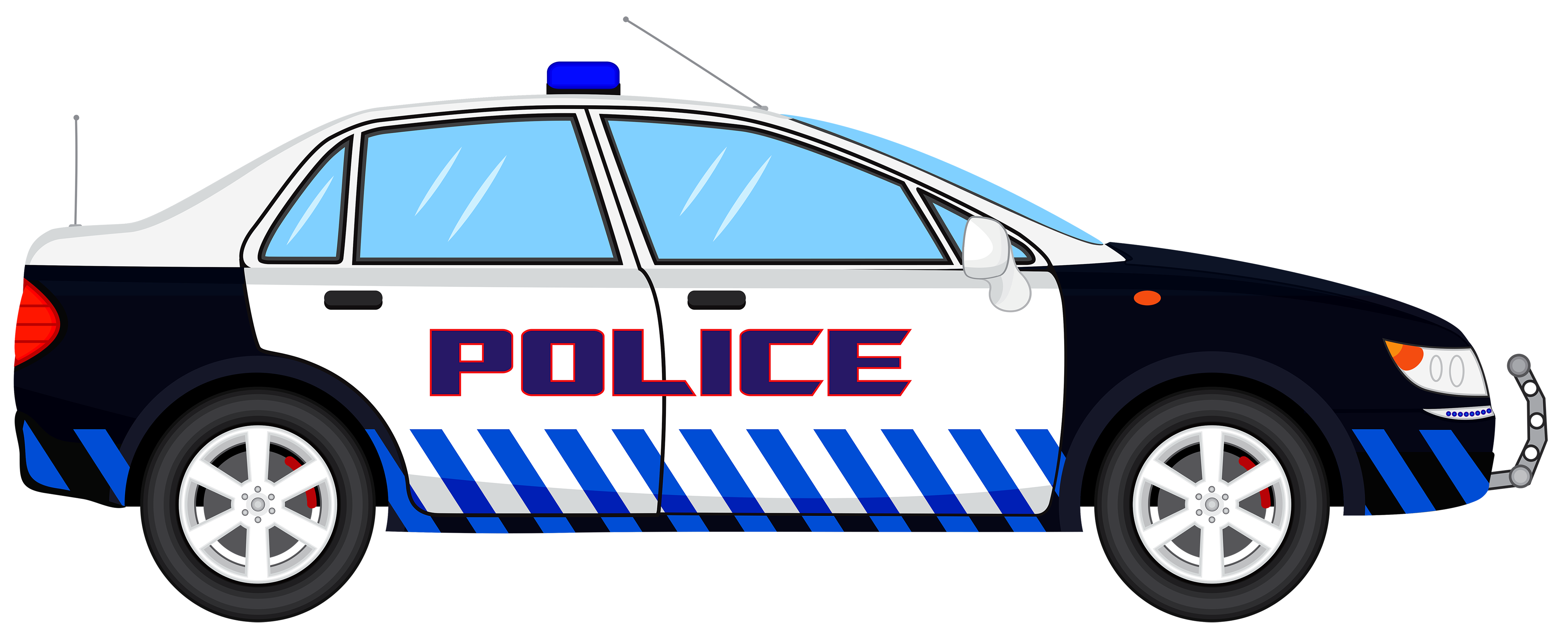 Police car transparent png. Clipart cars vector