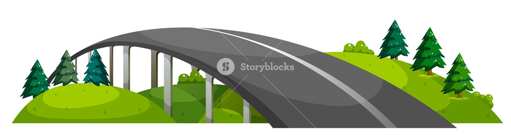 Background clipart road. Illustration of a at