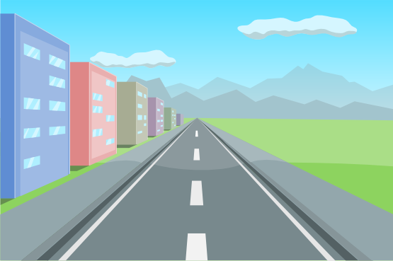 . Background clipart road