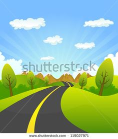 Vector wallpaper carian google. Background clipart road