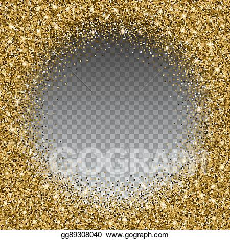 Background clipart sparkle. Vector art gold glitter