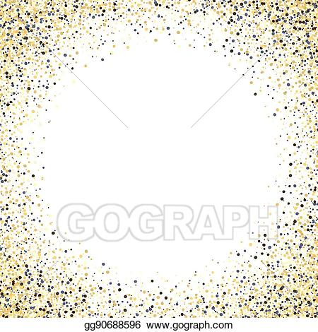 Vector stock gold glitter. Background clipart sparkle