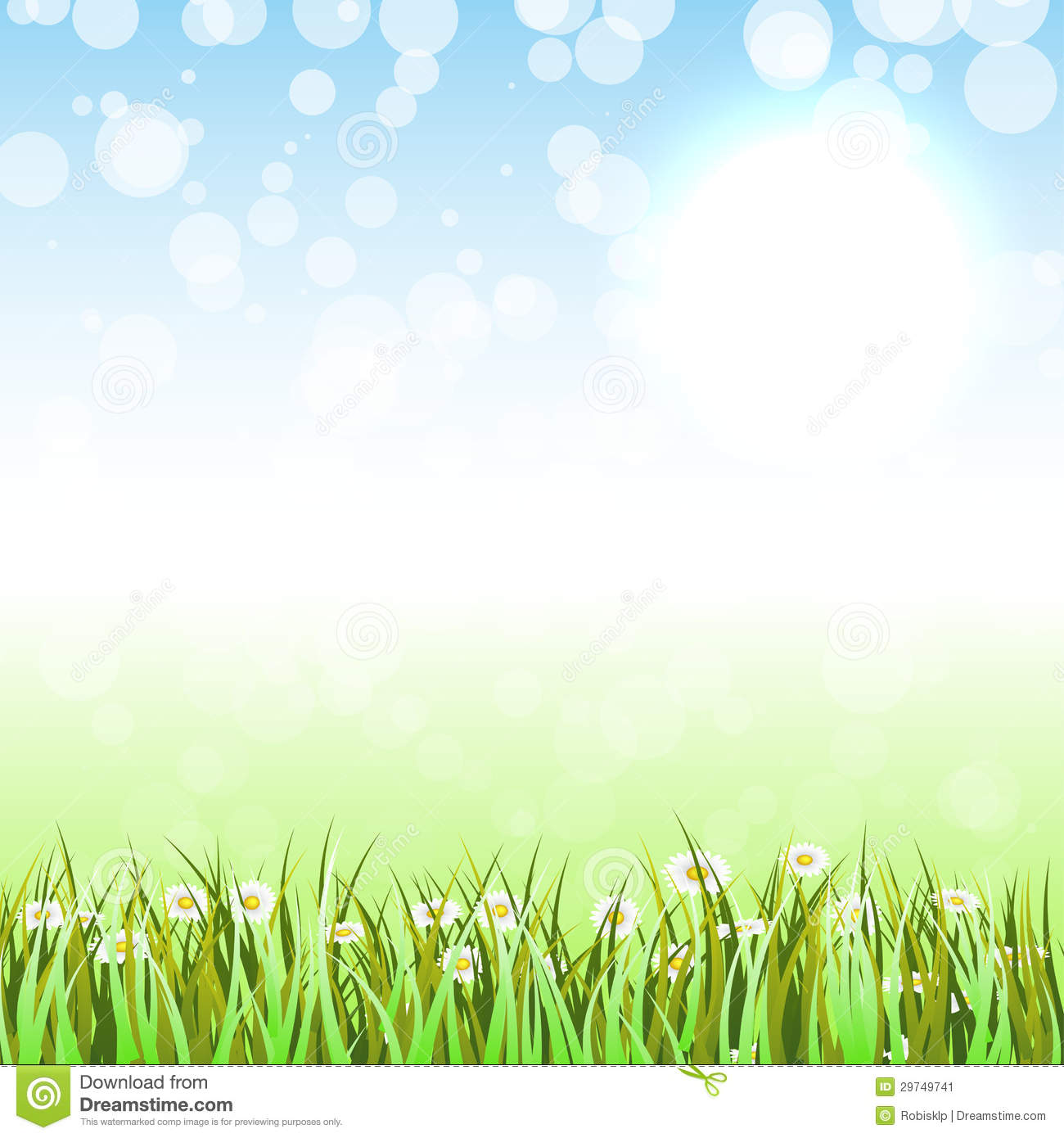 Background clipart spring.
