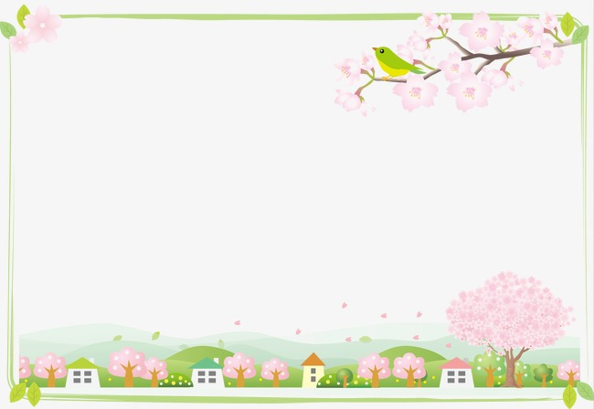 Background clipart spring. Beautiful guanghui png image