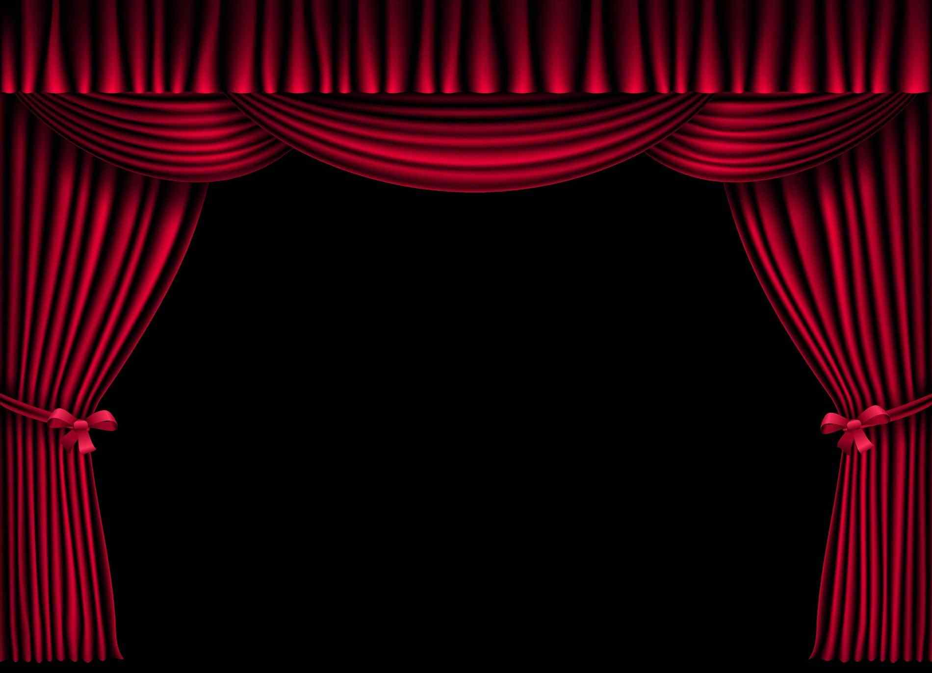 Background clipart stage. Curtains kid theatre curtain