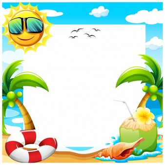 Background clipart summer. Station