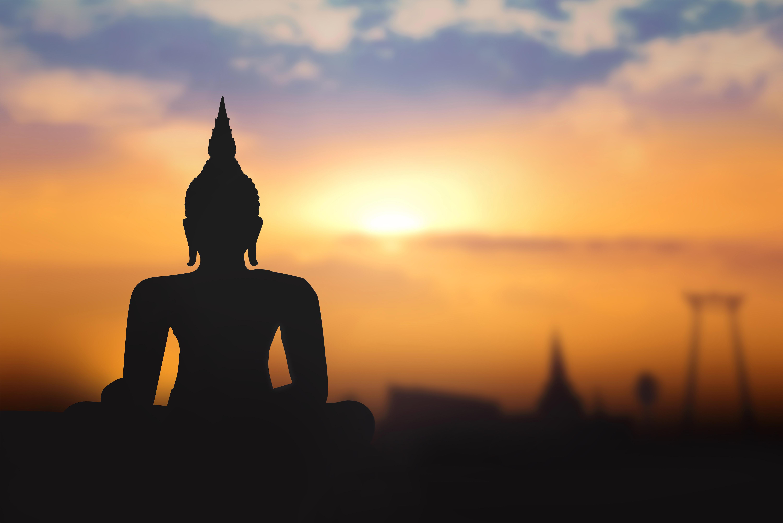 Background clipart sunrise. Buddha gallery yopriceville high