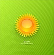 Free cartoon and vector. Background clipart sunrise