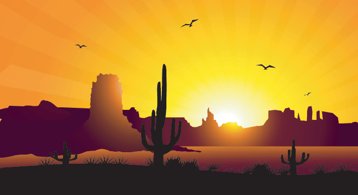 Background clipart sunrise.  collection of desert