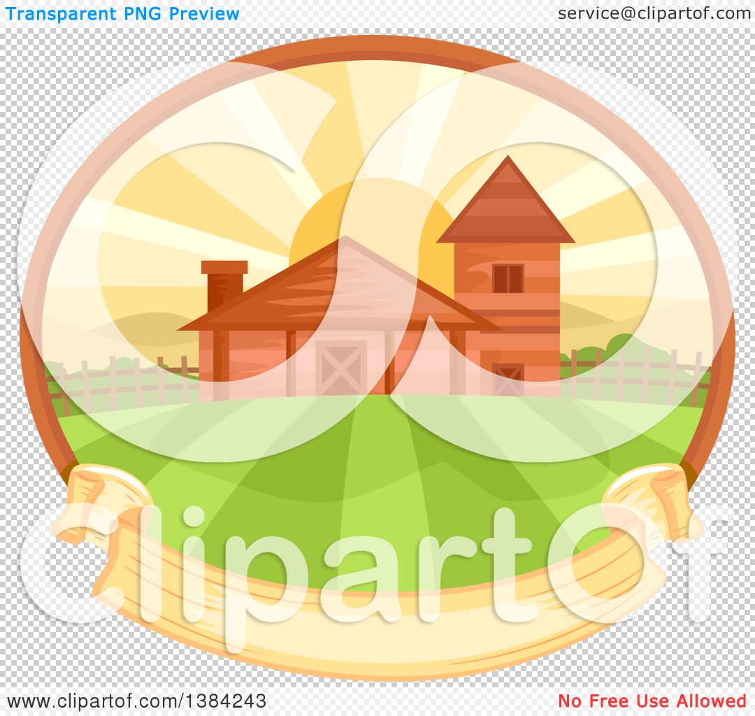 Farm pencil and in. Background clipart sunrise