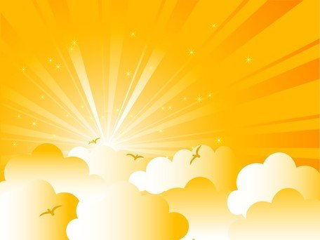 Background clipart sunrise. Free cartoon and vector