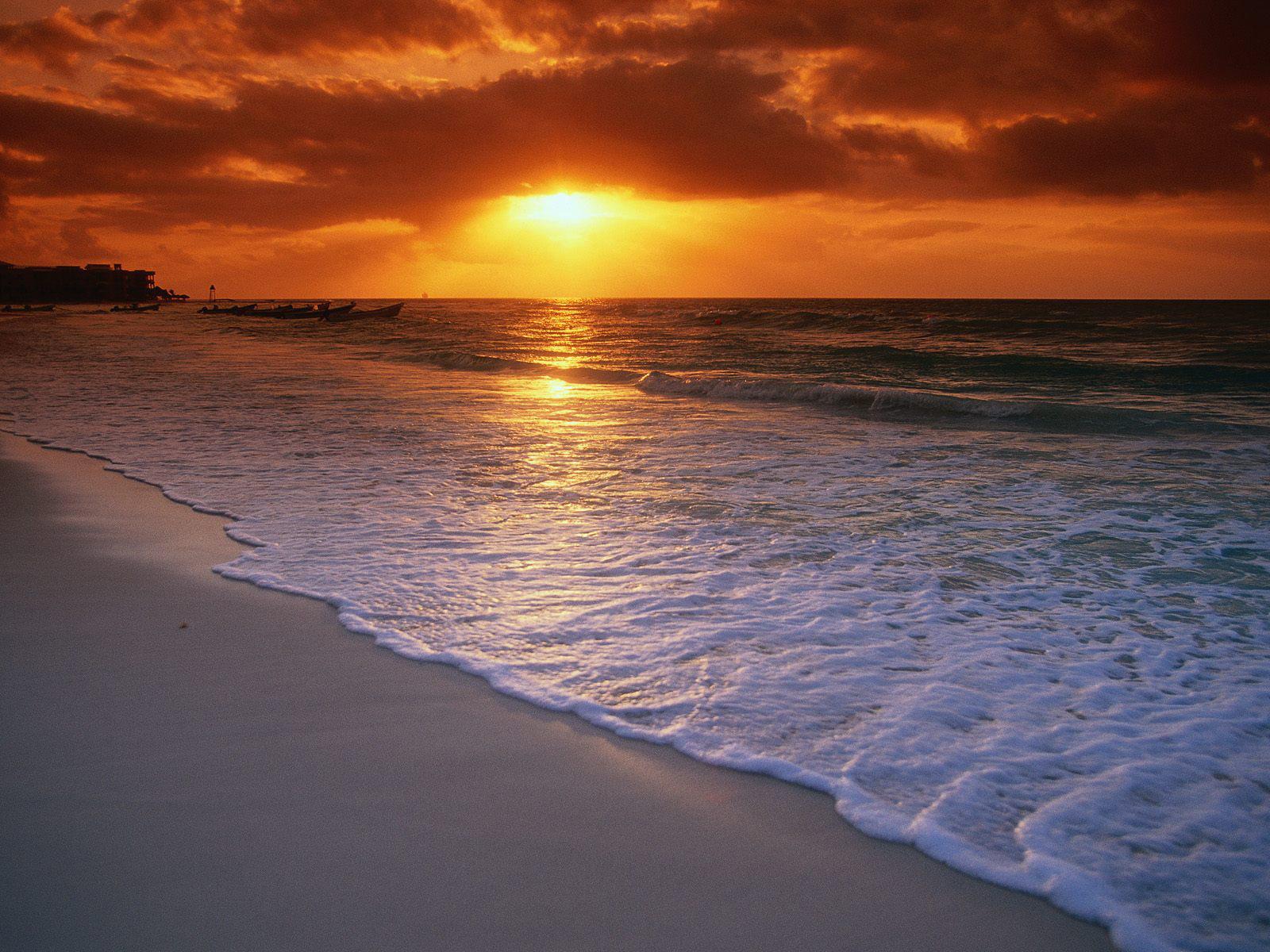 Sea beach gallery yopriceville. Background clipart sunset