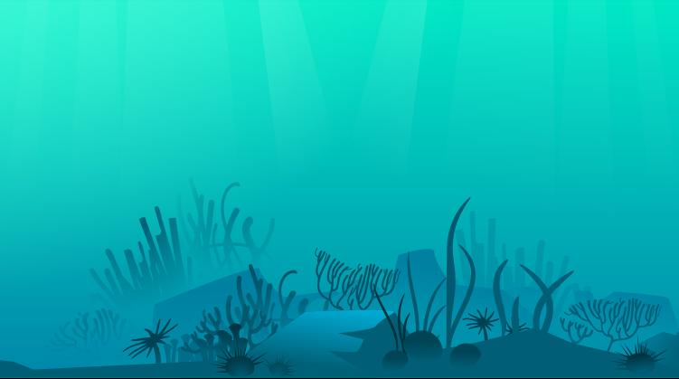 Station. Background clipart underwater