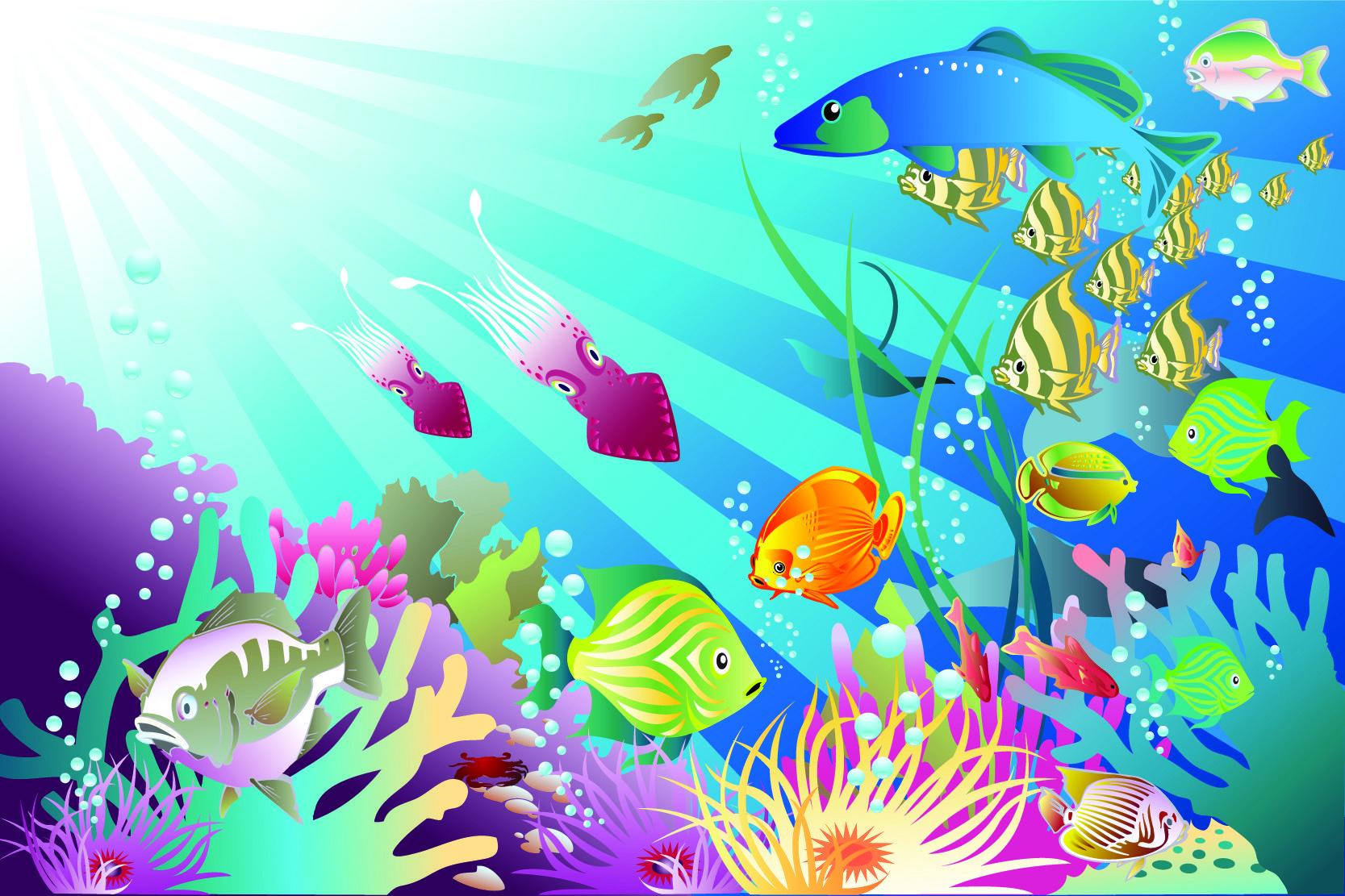 Background clipart underwater. Ocean clip art free