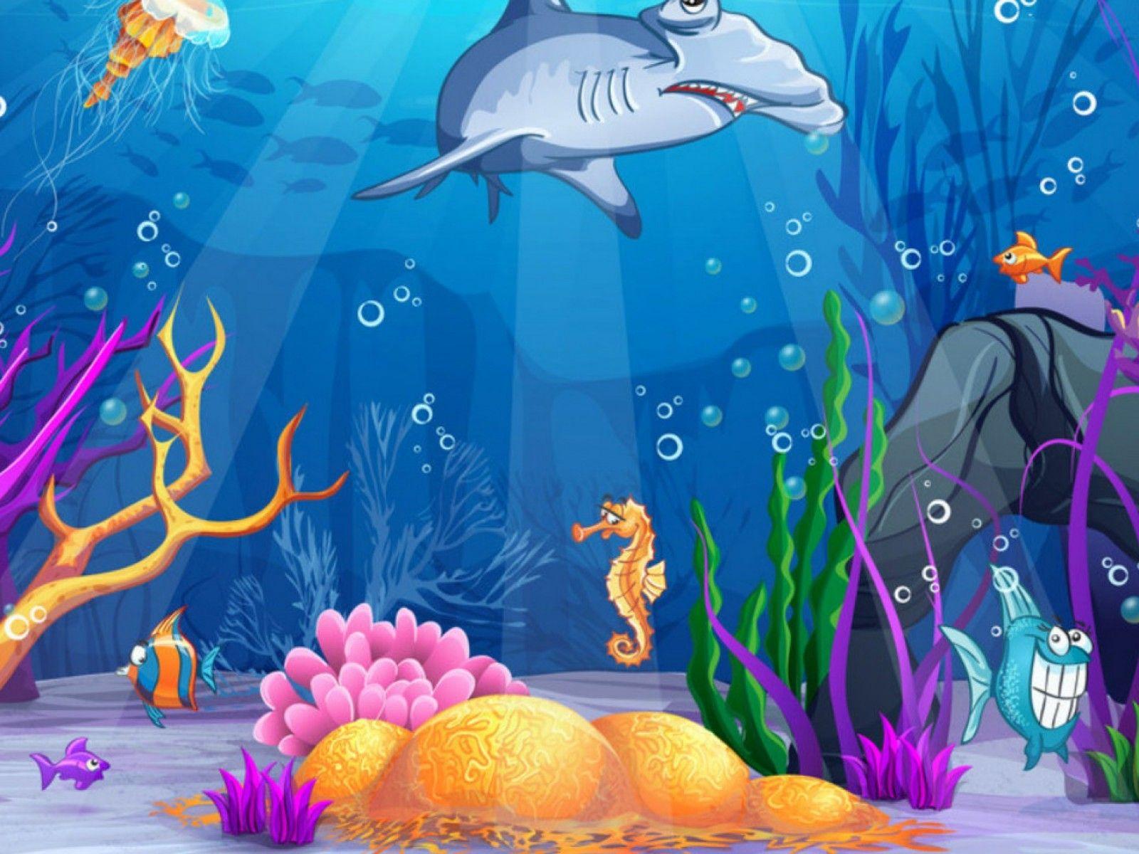 Jpg under the sea. Background clipart underwater