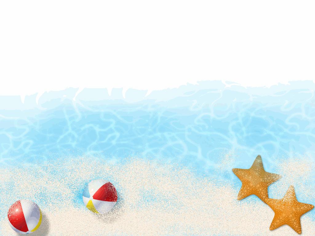 Beach clipart borders. Free scenery balls water