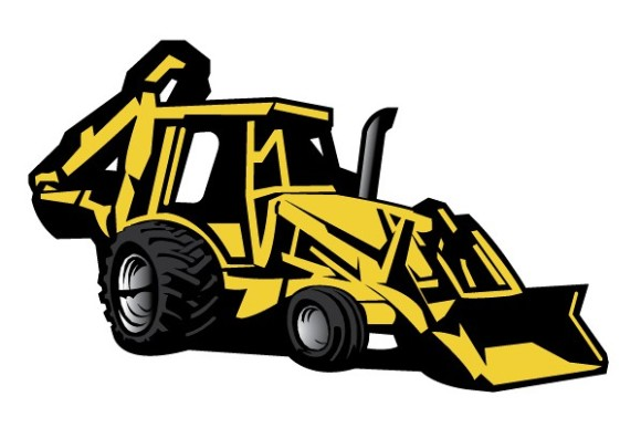 Backhoe clipart. Free cliparts download clip
