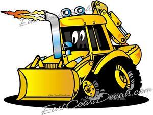 Cat jcb loader decal. Backhoe clipart backhoe case