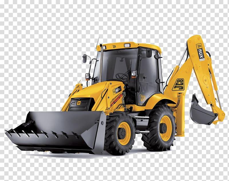 Yellow jcb loader excavator. Backhoe clipart backhoe case