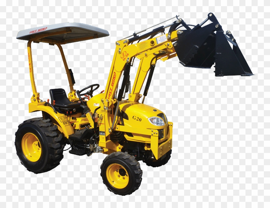 Png free pictures of. Backhoe clipart backhoe tractor