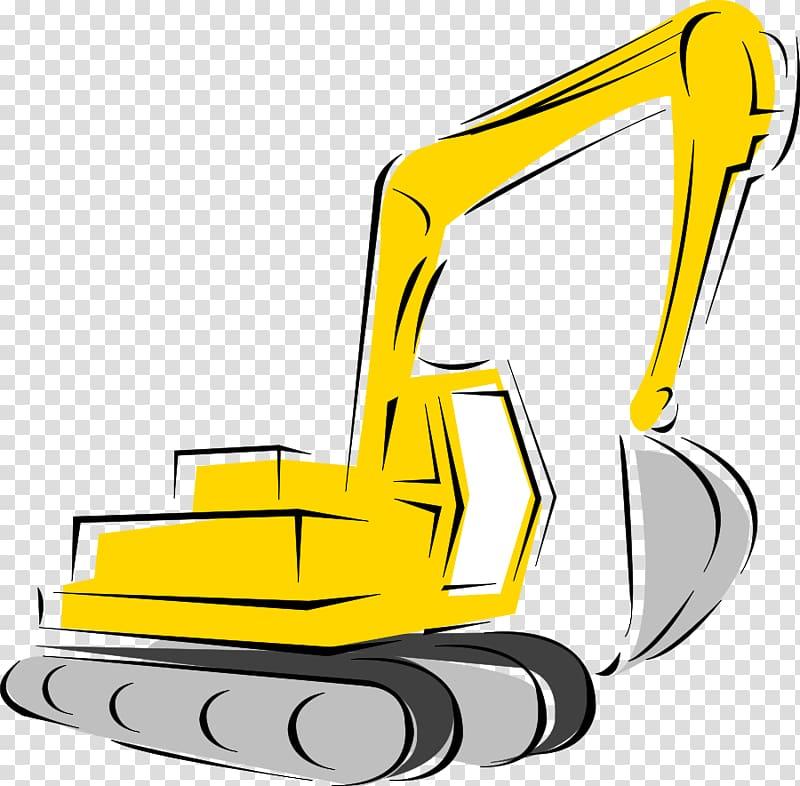 Caterpillar inc heavy machinery. Backhoe clipart building equipment