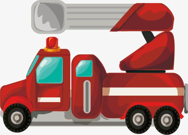 Backhoe clipart car. Loader truck excavator red
