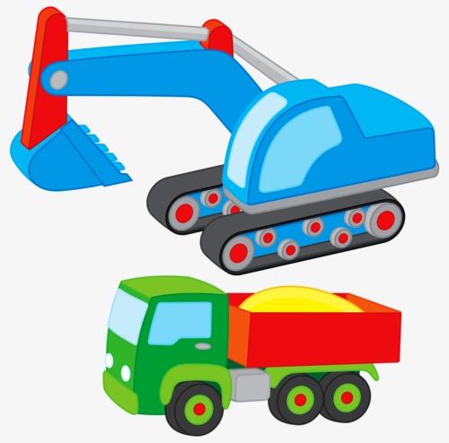 Backhoe clipart car. Backhoes transportation toy png