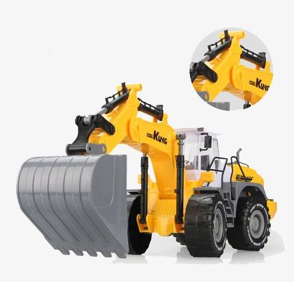 Backhoe clipart car. Inertial toy excavator mother