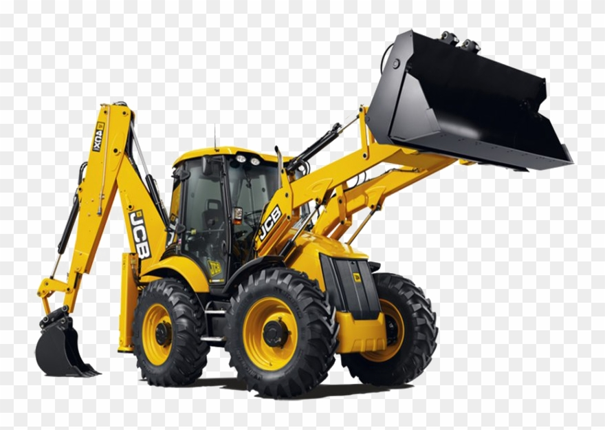 Machine png high quality. Backhoe clipart construction equipment
