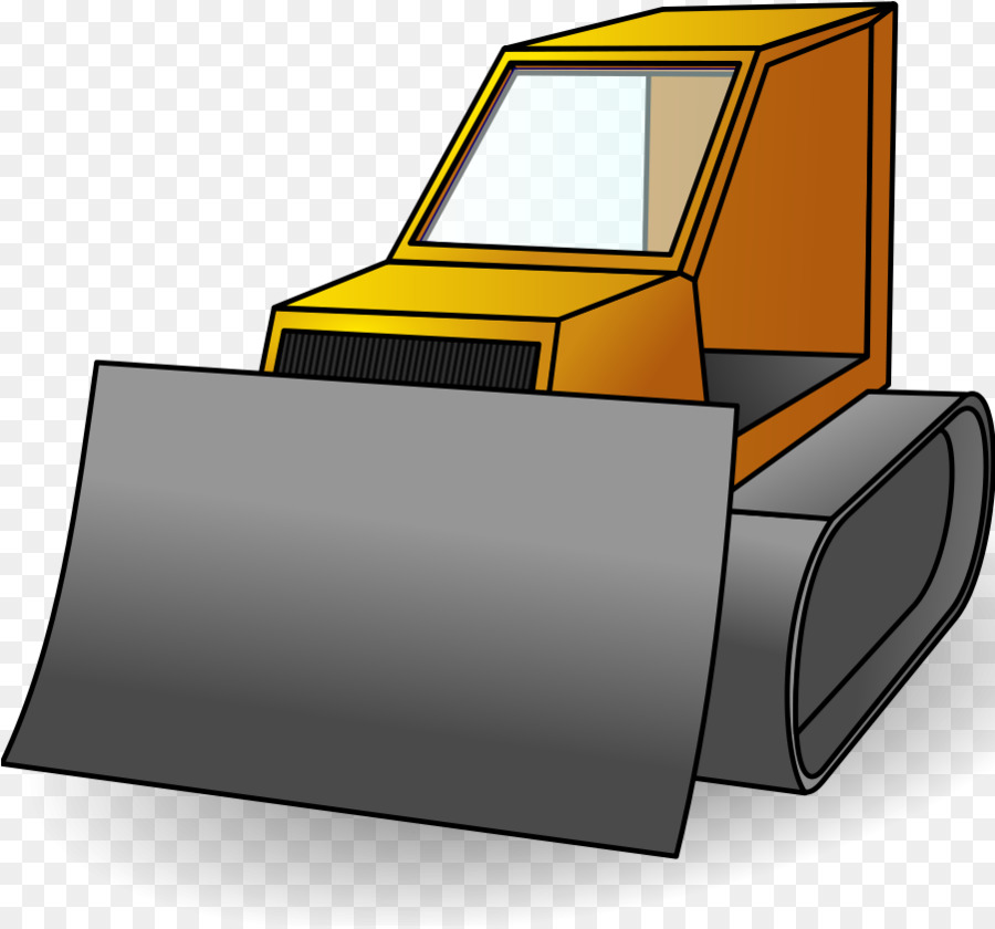 Backhoe clipart construction machinery. Bulldozer heavy clip art