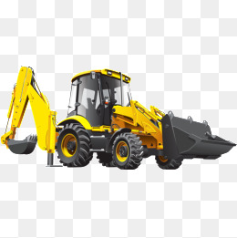 Site png images vectors. Backhoe clipart construction project