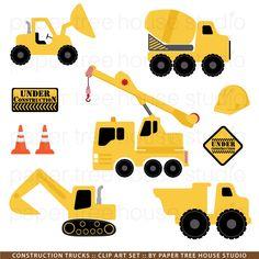 Backhoe clipart construction site. Trucks sale yellow black