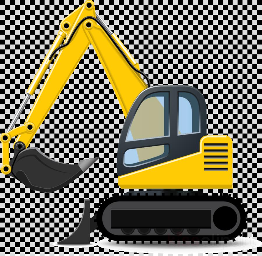 Background construction truck . Excavator clipart car