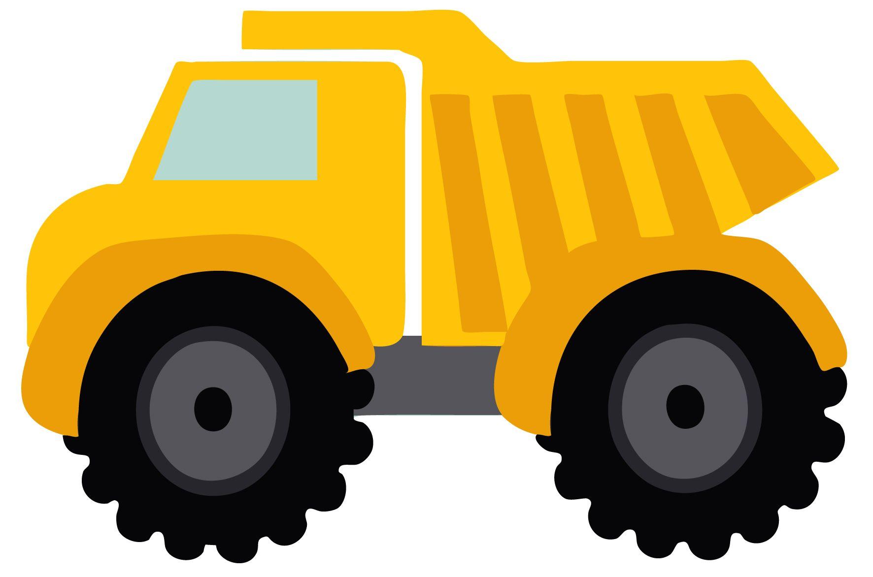 Dump free eyfs ks. Backhoe clipart construction truck