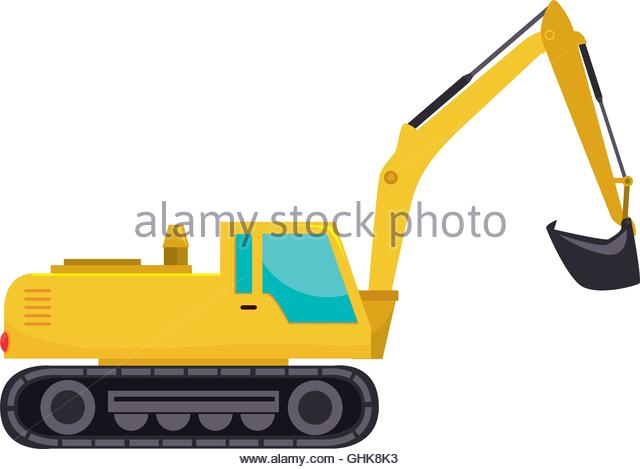 Backhoe clipart construction vehicle. Excavator free download best