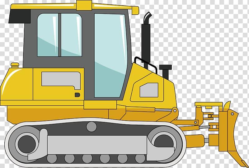 Excavator clipart construction machinery. Bulldozer heavy equipment machine