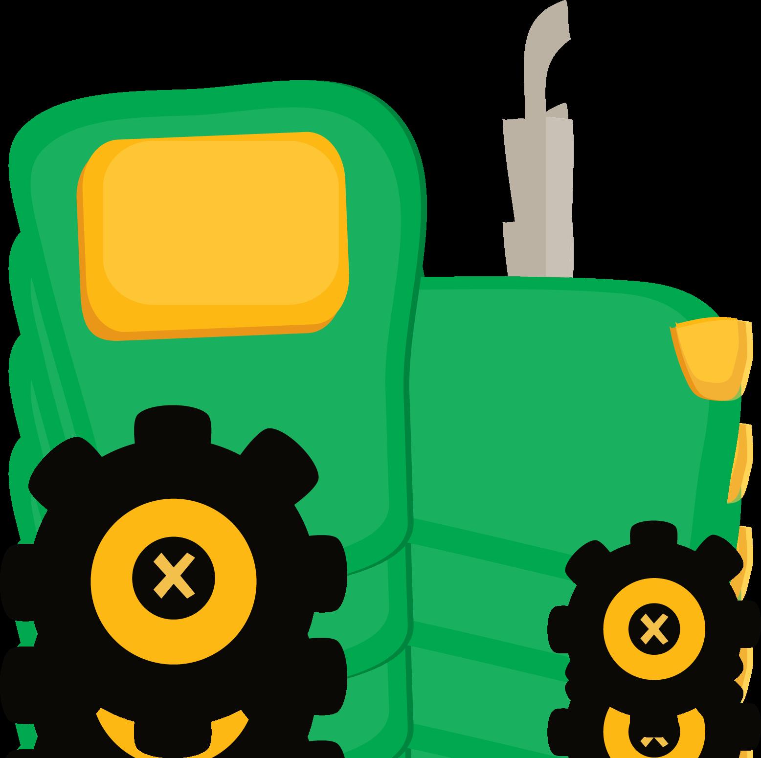 Fazendinha tractor png minus. Clipart door cute