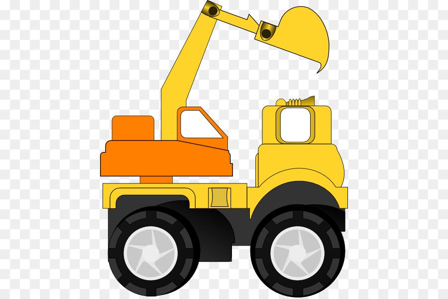 Backhoe clipart digger. Caterpillar inc excavator heavy