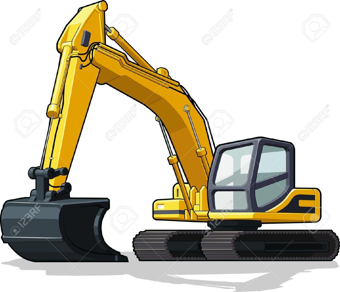 excavator clipartlook. Backhoe clipart digger