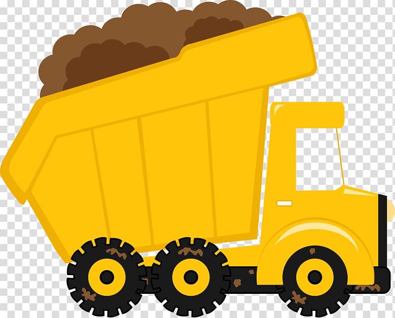 Backhoe clipart dump truck. Pickup vehicle transparent