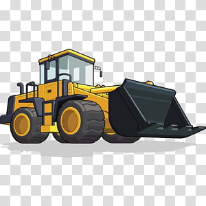 Heavy architectural engineering vehicle. Backhoe clipart engineer equipment