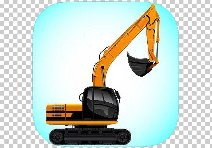 Backhoe clipart engineering equipment. Excavator architectural power shovel
